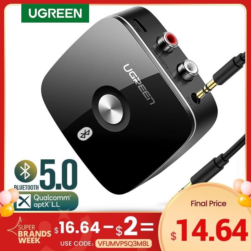 aliexpress.com - UGREEN Bluetooth RCA Receiver 5.0 aptX LL 3.5mm Jack Aux Wireless Adapter Music for TV Car RCA Bluetooth 5.0 Audio Transmitter