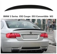 carbon fiber spoiler for bmw 3 series e92 coupe e93 convertible m3 2006 2014 high quality wing lip spoilers