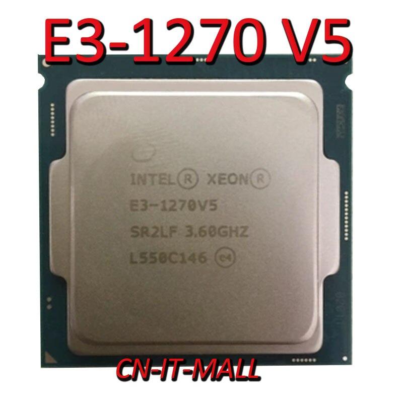 Processador intel xeon E3-1270 v5 cpu 3.6 ghz 8 m 4 core 8 threads lga1151