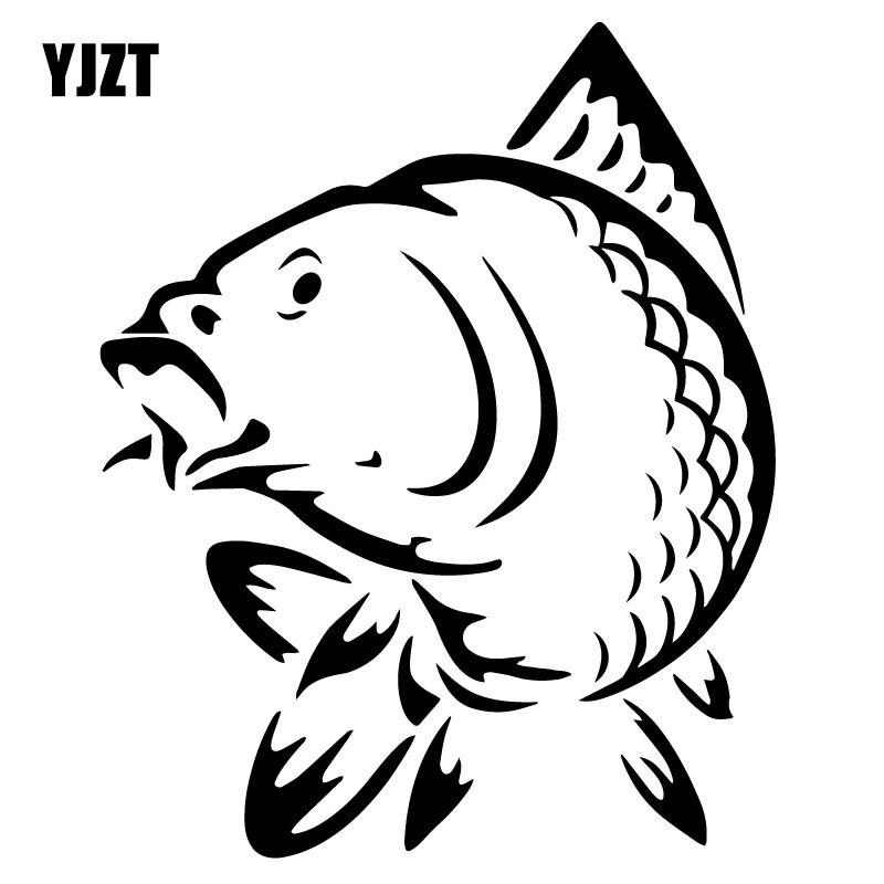 Забавная Автомобильная наклейка 12,3*15,2 см с изображением морских животных, рыбы, модные украшения для автомобиля, аксессуары, C4-0794