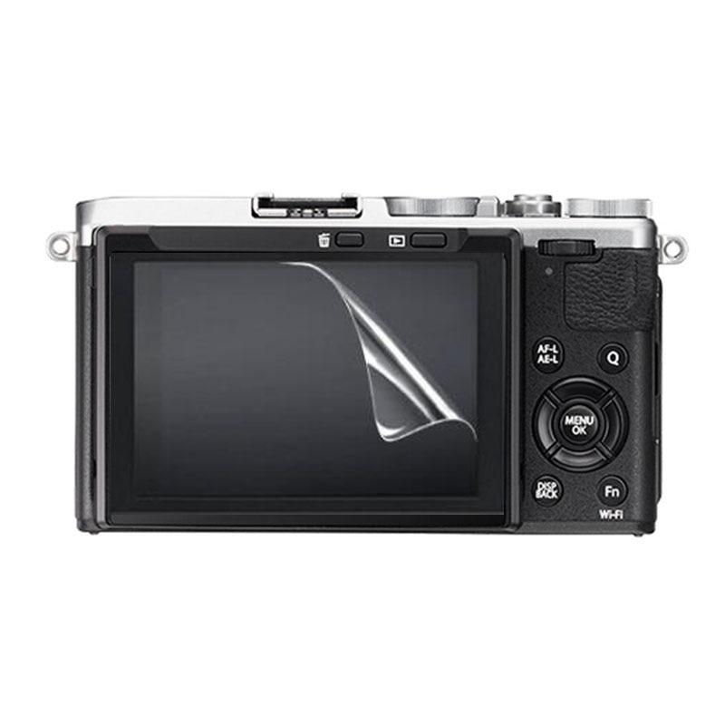 Funda protectora de pantalla 3 x Clear Soft PET para fujifilm X-T3 XT3 X70 para Panasonic Lumix LX10 LX15 FZH1 LX9 película protectora