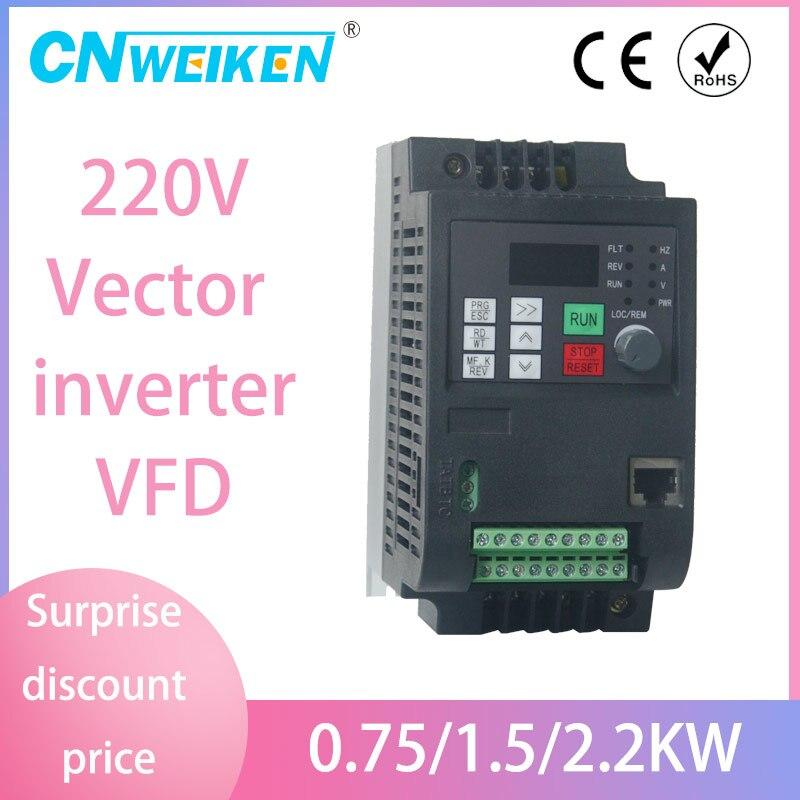 5.5kw/4kw/2.2kw 220v AC преобразователь частоты выход 3 фазы 50 Гц/60 Герц двигатель переменного тока контроллер водяного насоса/ac диски