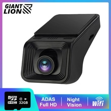 ADAS Car DVR USB WIFI Dash Cam For Car Radio Full HD 1080P Car Camera Recoder Night Vision Car DVR Car Video Surveillance