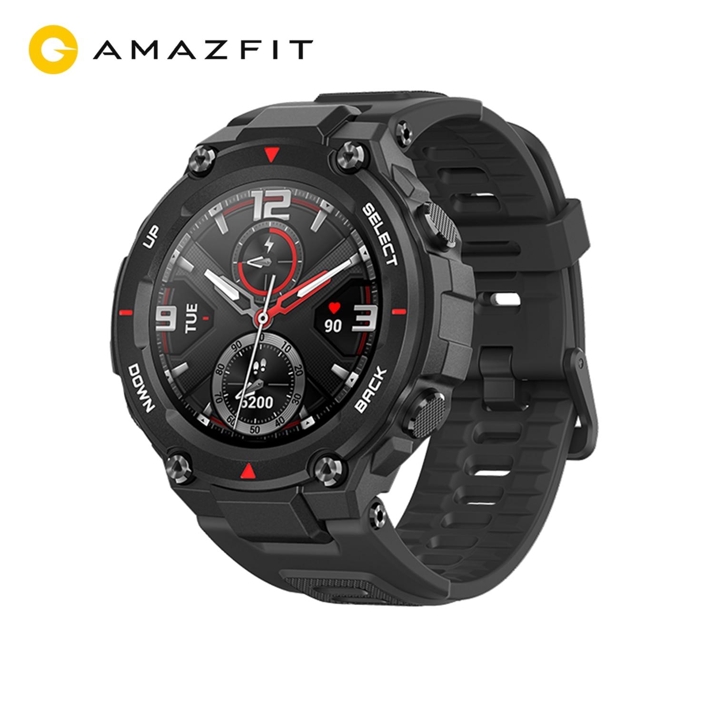Get Original Amazfit T-rex  Smart Watch GPS Outdoor Smartwatch for Men Waterproof 20 days Battery Life for iOS Android