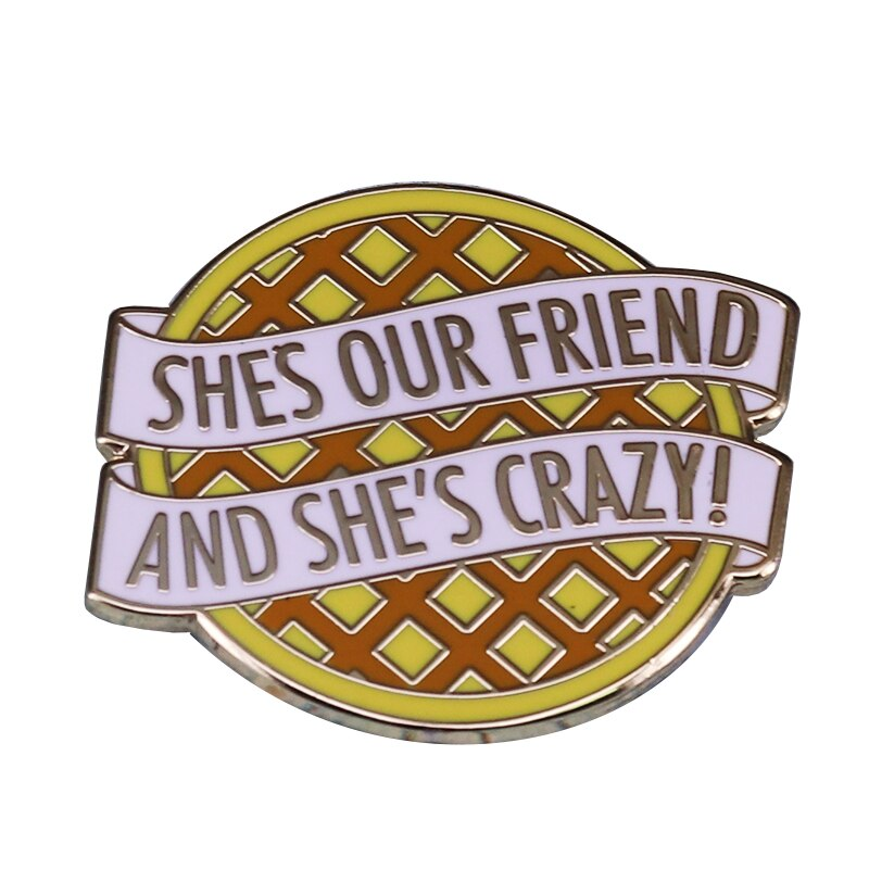Stranger Things waffle lapel pin perfect for collectors and fans