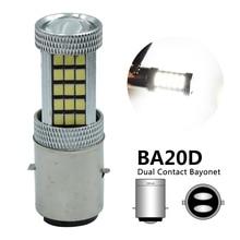 BA20D Motorcycle Headlight BA20D P15D Led Motorbike Fog Lamps Hi/Lo Beam P15D LED Scooter Lamp H6 H6M LED DRL Headlight Bulb