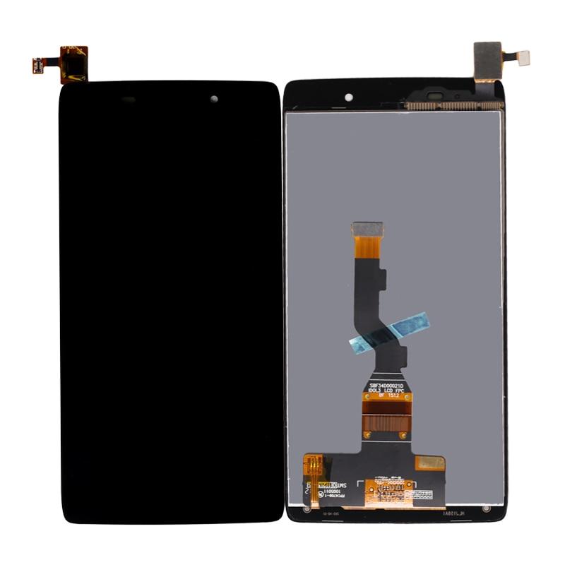 Pantalla LCD para Alcatel One Touch Idol 3 OT6039 táctil de LCD de 6039 6039A 6039K 6039Y digitalizador de montaje de pantalla envío gratis