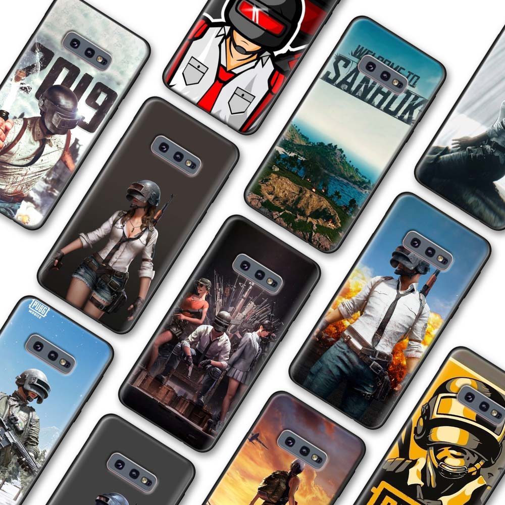 Pubg juego TPU caso para Samsung Galaxy S10 S20 más S8 S9 S10 S20 S10e Nota 8 9 10 más 20 Ultra 5G