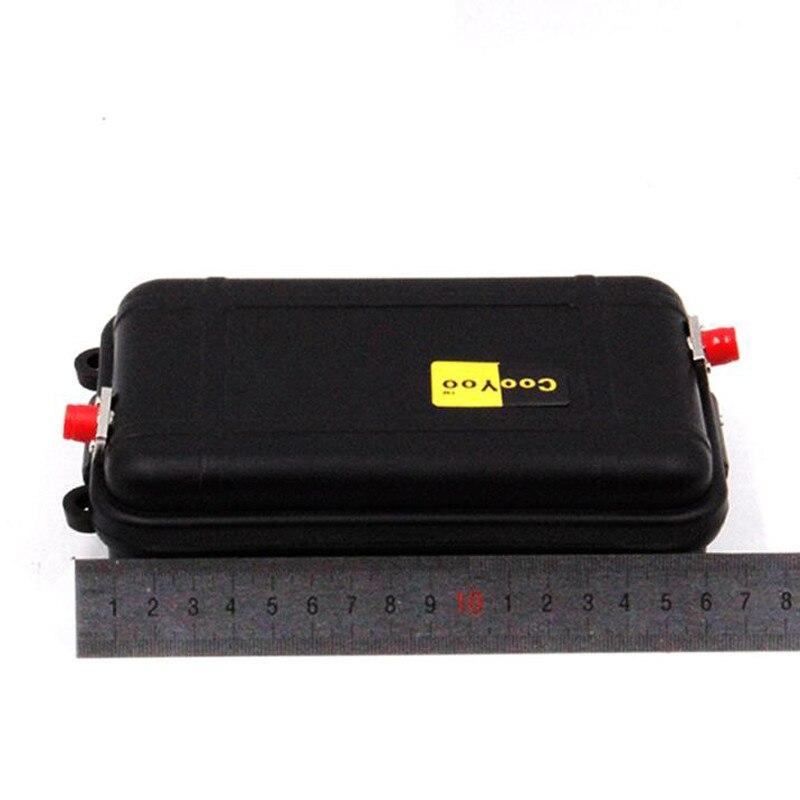 FC UPC وضع واحد صغير OTDR إطلاق صندوق الكابل 9/125um G652D1310/1550nm 1 كجم ، 1 كجم ألياف عارية ، كابل إطلاق الألياف البصرية
