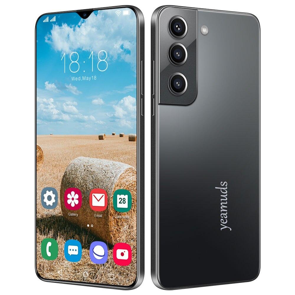 Global Version 6.7〞HD Smartphon 4G/5G 8GB RAM 128GB ROM Android OS 11.0 Dual Sim Unlocked Mobile Phones Cell Phone Celular Smart