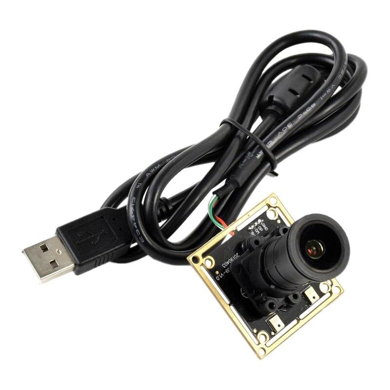 IMX335 5MP كاميرا بـ USB (أ) 2592X1944 ، فتحة كبيرة ، 2K تسجيل الفيديو ، التوصيل والتشغيل ، سائق مجاني