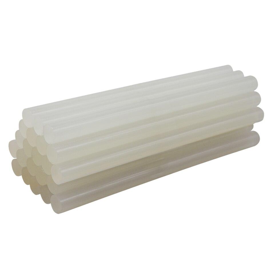 Free shipping 7mm x 100mm Hot Melt Gun Glue Sticks Plastic Transparent Sticks for Glue Gun Home Power Tool Accessories
