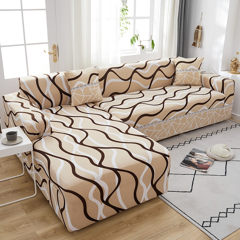 2016 rushed sectional sofa design u shape sofa 7 seater lounge couch good quality cheap price leather sofa Elastic Sofa Cover High Quality Adjustable sofas Chaise Covers Lounge For Living Room Sectional Couch Corner Sofa Slipcover