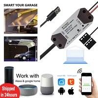 Smart Life     ouvre-porte de Garage  controleur  commutateur WiFi  Amazon Alexa  Echo  Google Home  bricolage  maison intelligente  pas besoin de hub