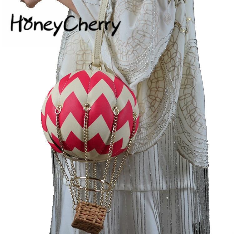 الإبداعية بالون ساخن السيدات حقيبة كتف مفردة سلسلة الإناث باليد زر المغناطيسي حقيبة eurأمريكان انحراف جلد النساء حقيبة
