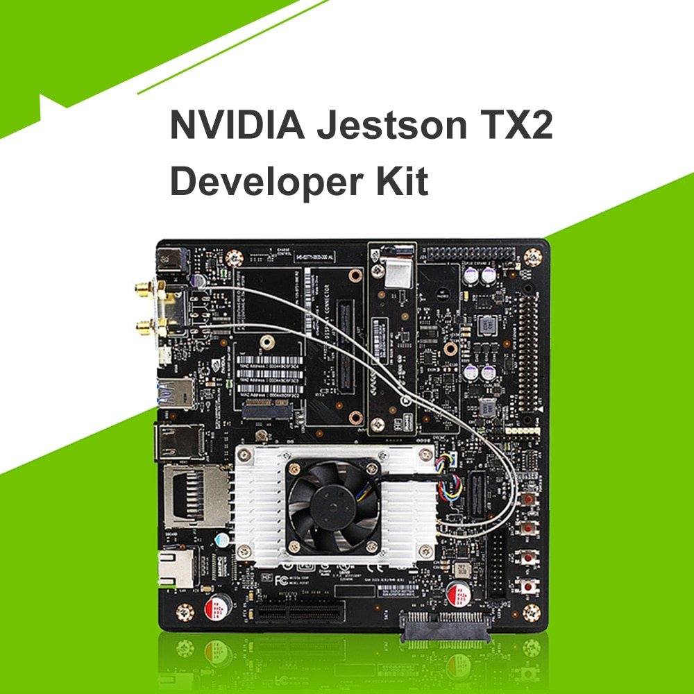 NVIDIA Jetson TX2 Developer Kit AI Solution for Autonomous Machines 8 GB L128 Bit DDR4 Memory