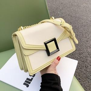 Summer Small Bag Girl 2021 New Trend Fashion Single Shoulder Small Square Bag Chain Purses and Handbags Luxury Designer