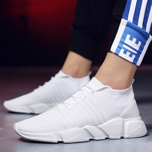 Men's sneakers Men sports shoes Air mesh LIght weight Running shoes Breathable Cozy Sturdt sole Sock