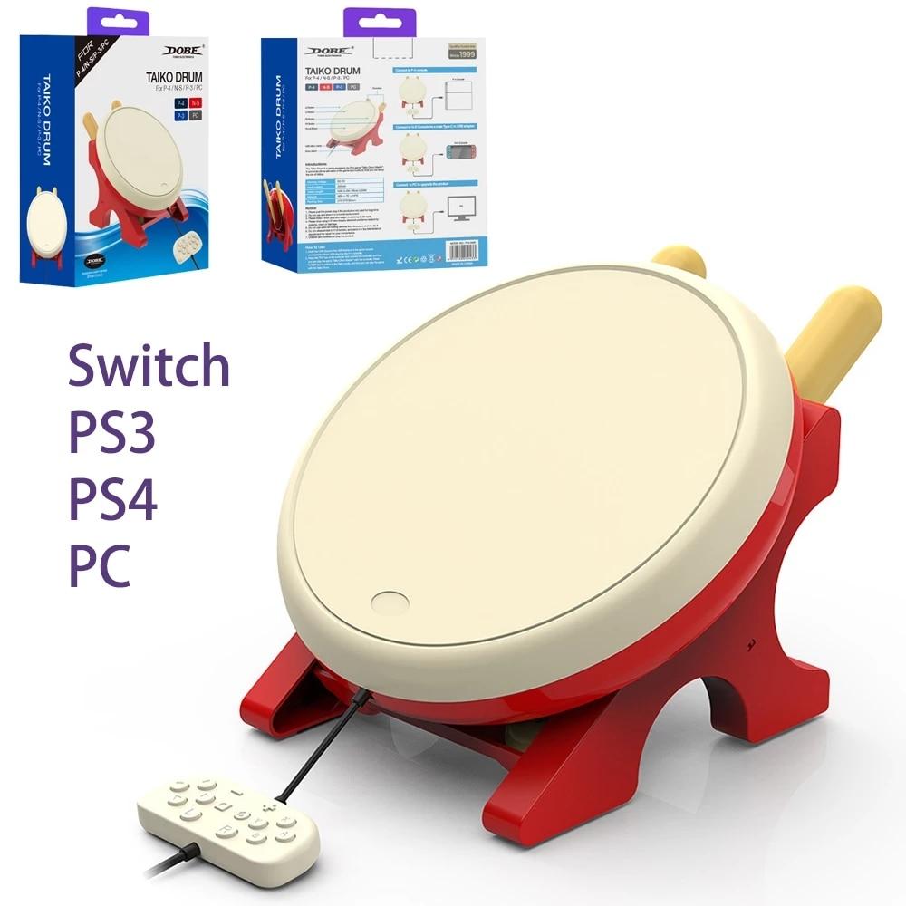 For Switch Taiko Game Drum Nintendo TV Television Somatosensory Game Taiko NS Game Drumstick Rod Gam