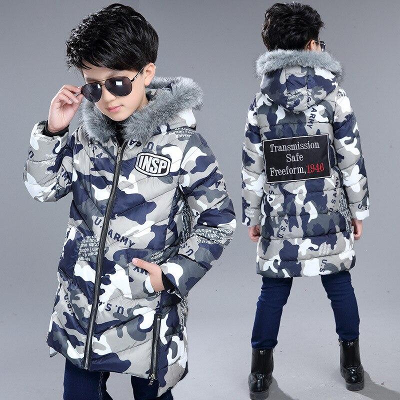 Chaqueta de invierno para niños chaqueta de plumón para niños 5-16 y chaqueta con capucha para niños chaqueta de invierno para el frío abrigo de piel de cuello