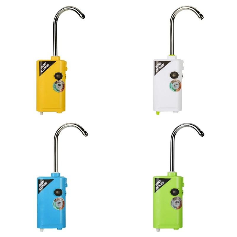 Portátil ao ar livre pequeno três-em-um indução de carregamento bombeamento bomba de oxigênio de pesca oxigenação bomba de oxigênio 4 cores ferramenta de pesca