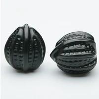 real hetian jade decompression hand play walnut hand carved walnut shape cyan gem