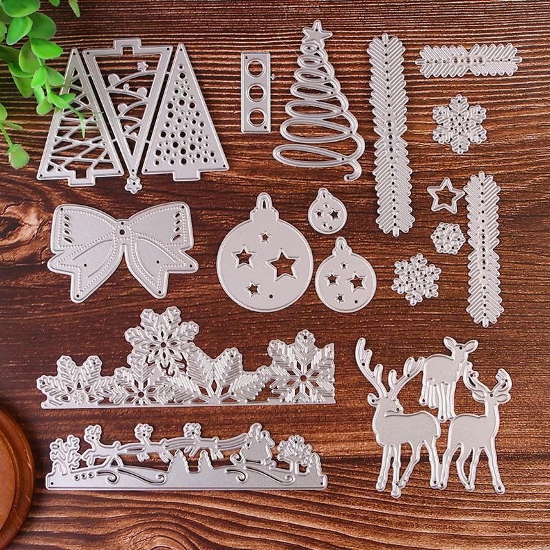 Troqueles de corte de Metal para Navidad troqueles de corte de papel...