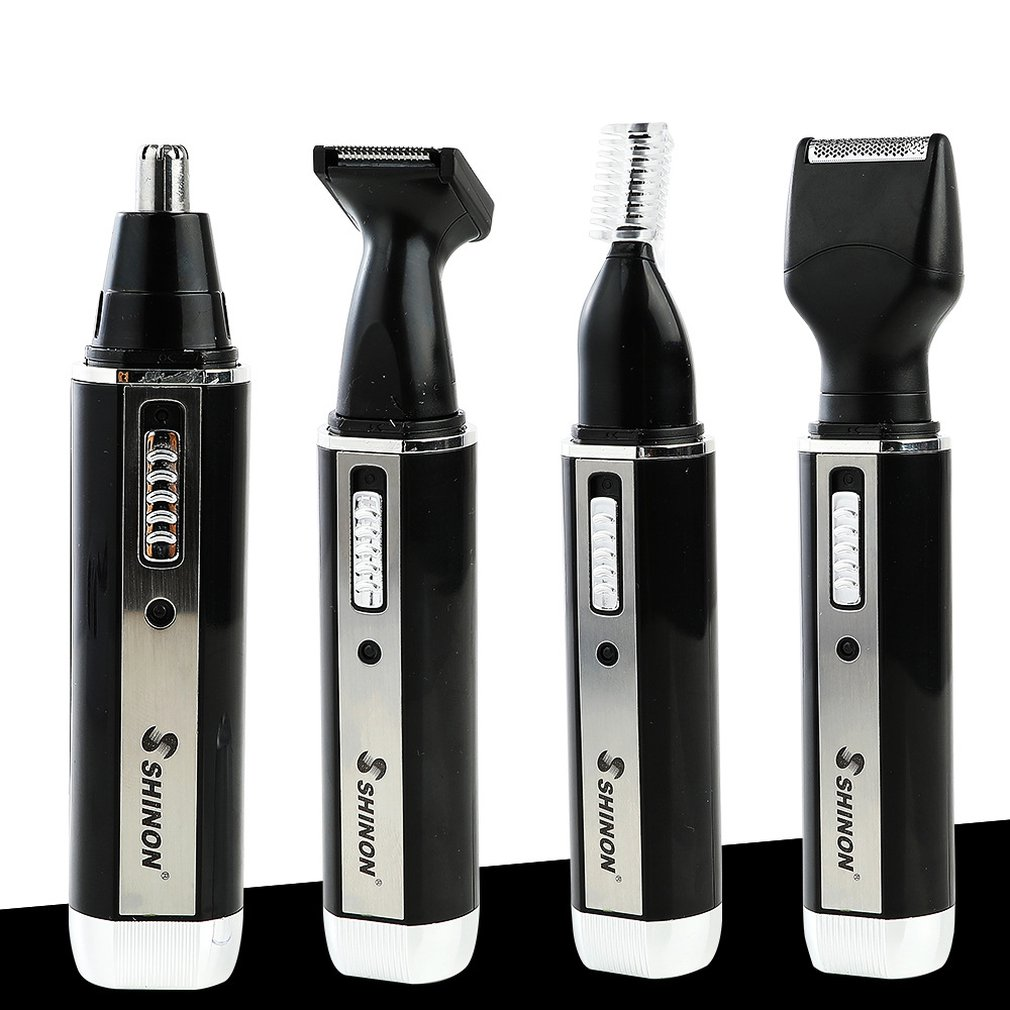 SH-2050 Multifunction 4 In 1 Personal Rechargeable Electric Men Ear Nose Trimmer Hair Clipper Shaver