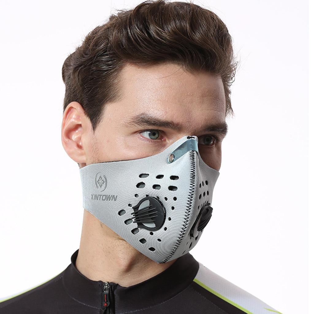 Fashion Women Scarf Respirator Scarf Reusable Reutilizable Face Cycling Filter Protection Маски Тканевые Для Лица Facemask