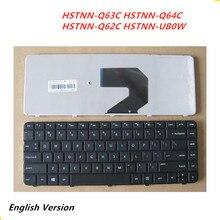 Laptop English Keyboard For HP HSTNN-Q63C HSTNN-Q64C HSTNN-Q62C HSTNN-UB0W Notebook Replacement layout Keyboard