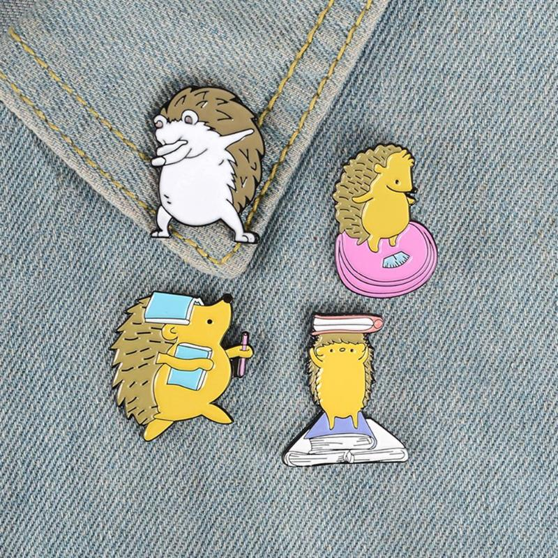 2019 New Hedgehog Pin Brooch Creative Hot Selling Delicate Comfortable Durable Backpack Jacket Lapel
