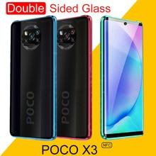 Boîtier en métal magnétique Double face pour Xiaomi Redmi Note 9 9S 8 8T 7 9A 9C K20 10 Ultra 9T CC9 Pro POCO X3 NFC F2 Pro couvercle en verre