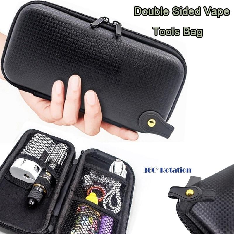 X6 Zipper Case Bags ego Leather Carry Bag for Vape Case Vapor Tool Kit Case for DIY Tool Kit Carry Bag Outdoors Mini Bag Storgag