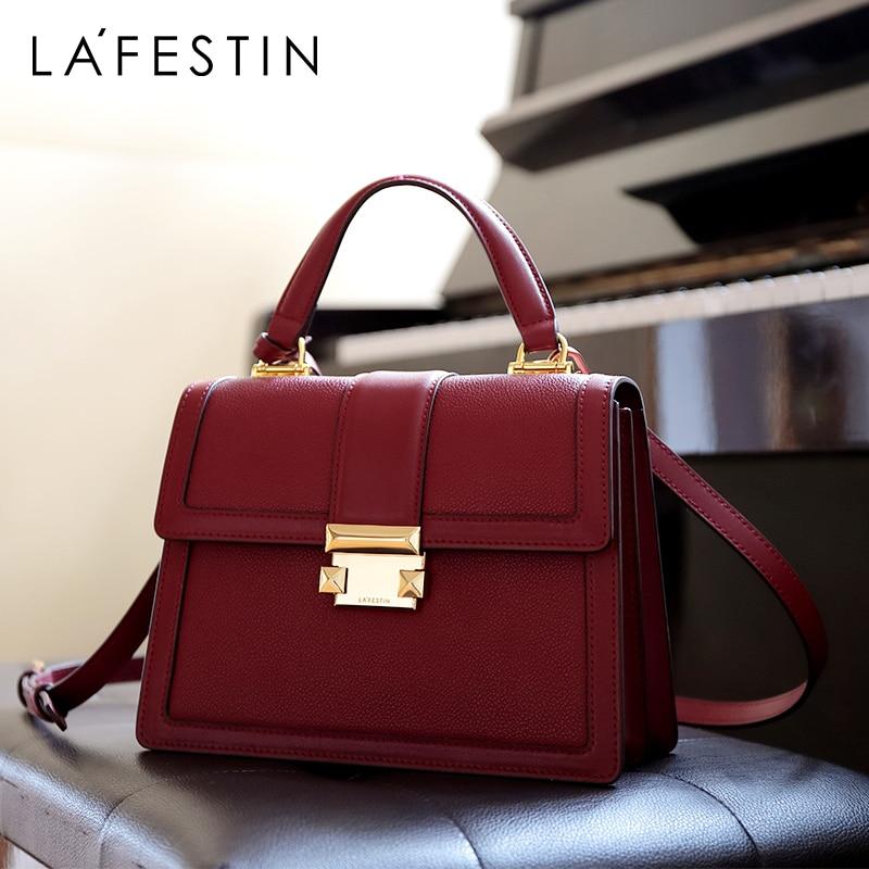 LA FESTIN Designer 2020 new luxury handbags fashion leather handbag qualities shoulder messenger bag ladies tote bolsa feminina