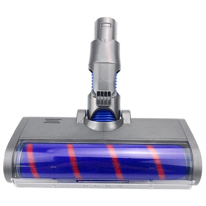 Cepillo de rodillo de cabeza de suelo suave para Dysons V6, V7,...