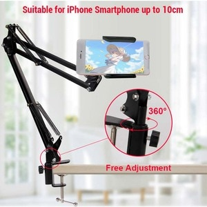 Image 2 - Гибкая подставка для планшета, складной универсальный кронштейн для мобильного телефона
