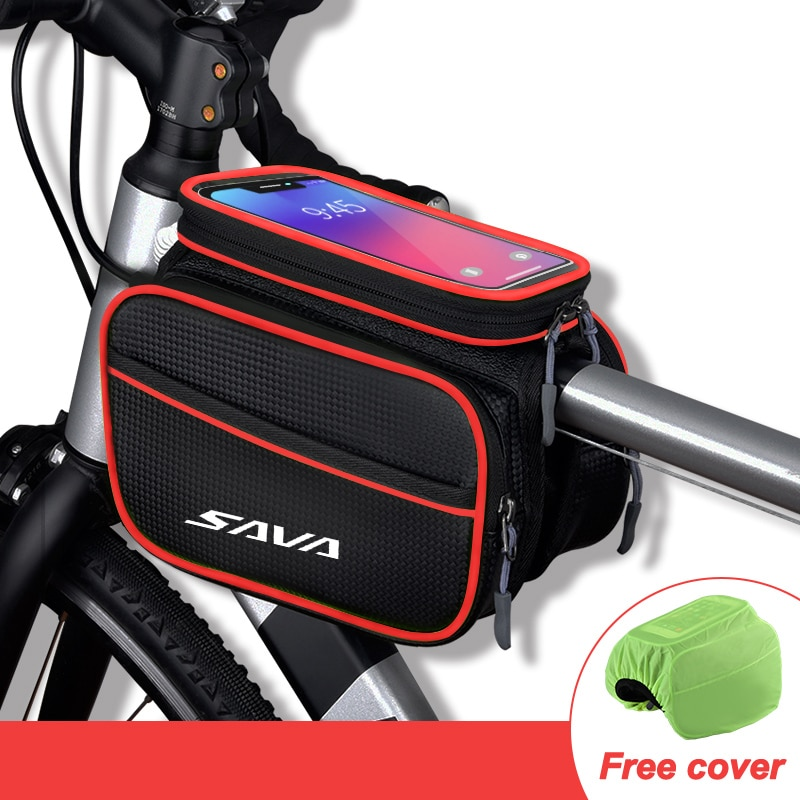 Bicycle frame bag top tube bike frame bag bicycle phone bag for phone under 6.2 inch phone bag bike bicycle phone case bag bike