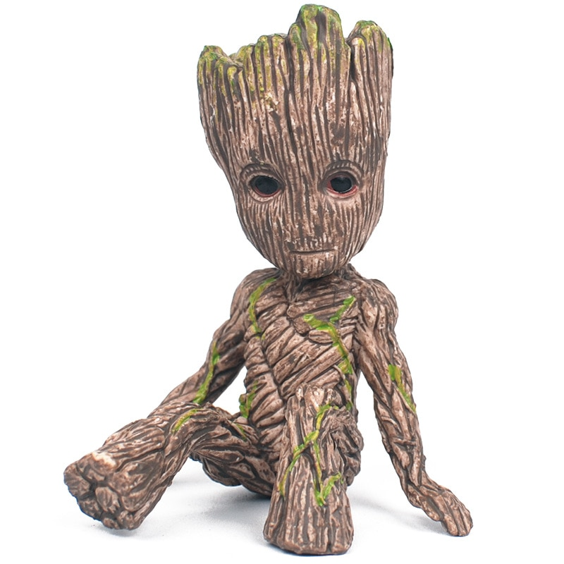 Sitting Position Groot Shuren Ornaments Model Guardians Of The Galaxy Vol. 2 Gk (garage Kit) Boutique Toy
