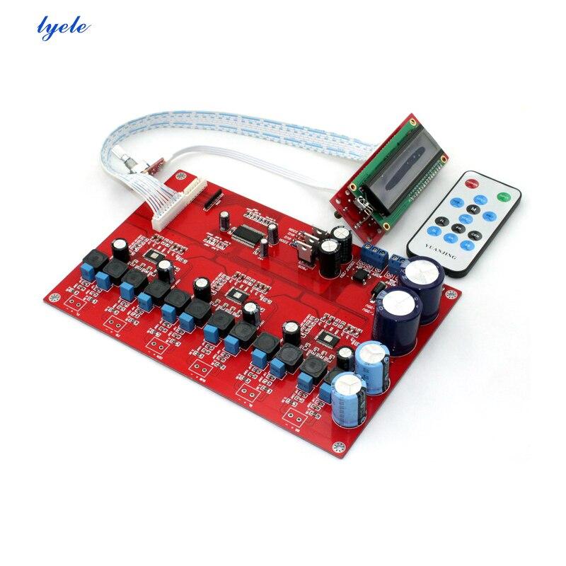 Placa de Amplificador de Áudio Placa de Amplificador de Potência de Controle Remoto de 6 Canais Tpa3116
