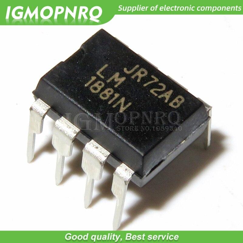 5pcs LM1881N LM1881 1881N 1881 DIP-8 ICs Vídeo da Video Sync Separador 8-PDIP 0 para 70 original novo