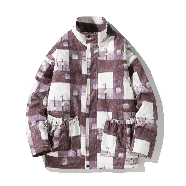 Мужские зимние куртки, новинка 2021, повседневная Толстая куртка, парки, мужская верхняя одежда, Модное теплое водонепроницаемое Мужское паль...