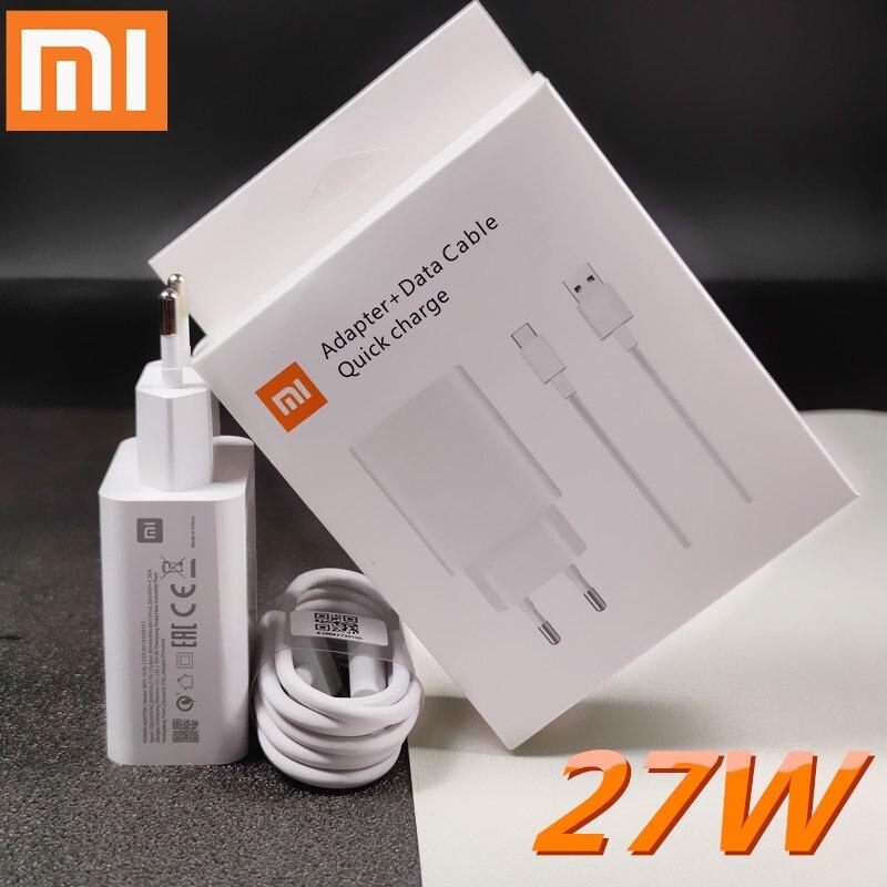 Xiaomi mi 9 ladegerät original 27w SCHNELLE Ladung adapter 3A TYP c kabel für mi 9 se 9t pro CC9 mi9t pro K20 K30