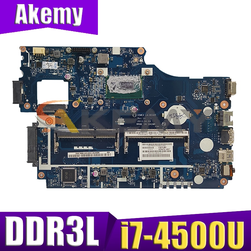 ملحوظة. MFM11.008 NBMFM11008 لشركة أيسر E1-532 E1-532G TPM255 E1-572 E1-572G اللوحة المحمول V5WE2 LA-9532P مع i7-4500U CPU DDR3L