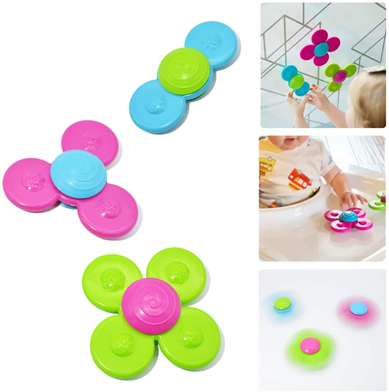 Cartoon Fidget Spinner Kids Toys Colorful Insect Gyro Toy Relief Stress Educational Fingertip Toys For Kids Adults Birthday Gift enlarge