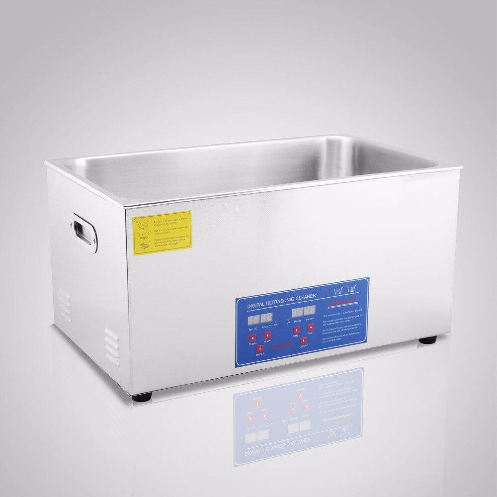¡Oferta! Limpiador ultrasónico 100A 30L con función de calentamiento para la industria de limpieza del reloj de joyería calentado