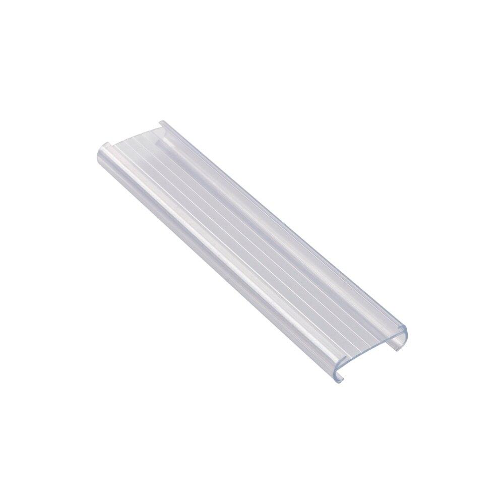 Shelf Data Strip Clear Clamp Shop Sign Flat Data Strip Supermarket