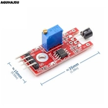 Électronique intelligente 4pin KEYES KY-036 corps humain Module de capteur tactile pour Arduino bricolage Kit de démarrage KY036