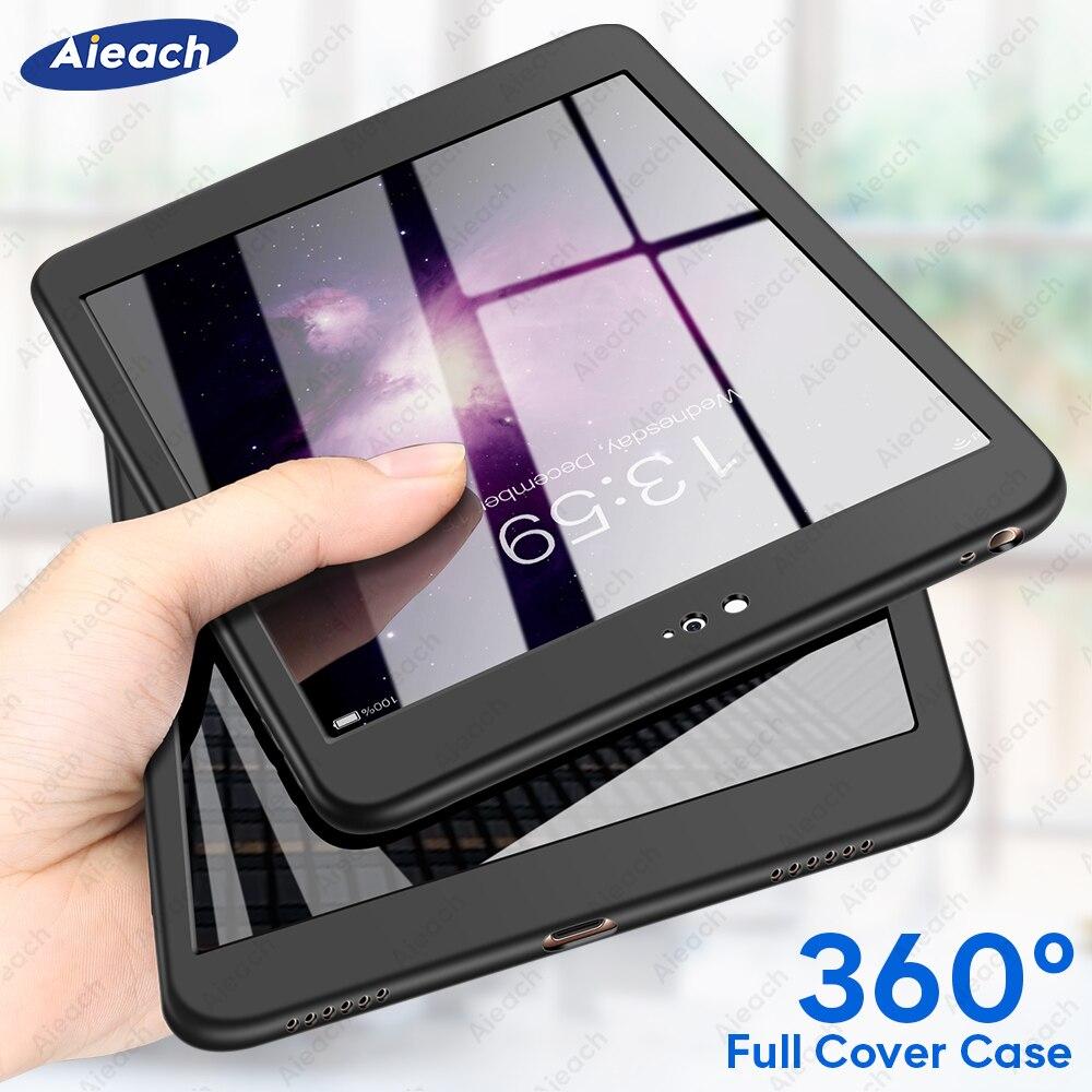 "360 Full Cover Case For Xiaomi mi pad 4 Case With Screen Protector 8.0"" Ultra Thin Soft Silicone Case For Xiaomi mipad 4 Funda"