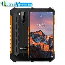 Ulefone Power X5 Pro Прочный телефон 4 Гб + 64 ГБ Android 10,0 5,5 дюйма Dual SIM LTE сети 4G FDD смартфон NFC уход за кожей лица разблокированный сотовый телефон