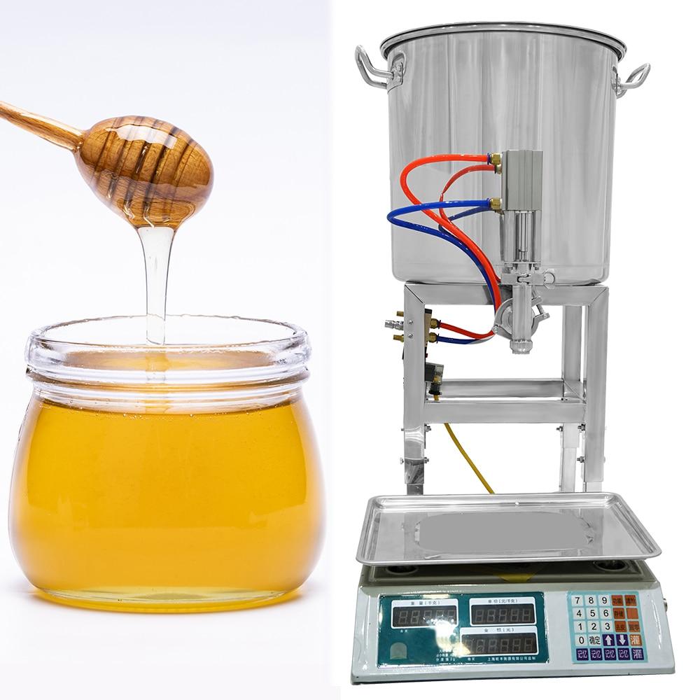 양봉 자동 꿀 충전 기계 50g ~ 2500g 규모 꿀벌 점성 붙여 넣기 양봉가 Suppiler 작성 기계